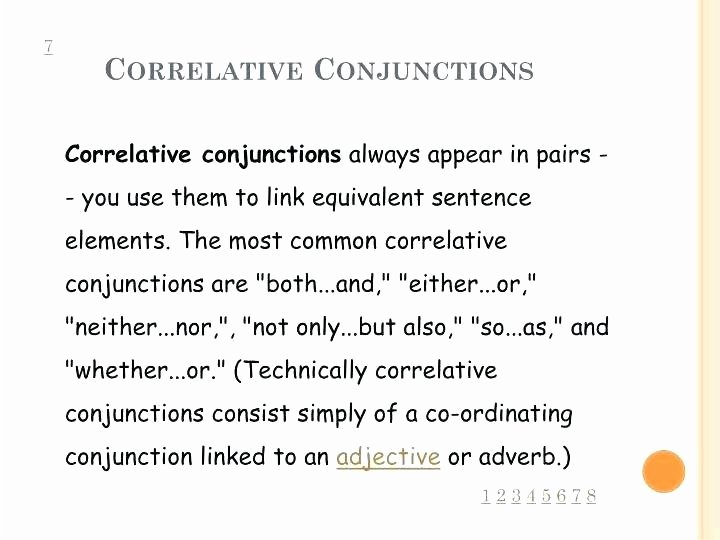 Correlative Conjunctions Worksheets Pdf Cover Image Conjunctions Worksheets for Grade 2 3 by