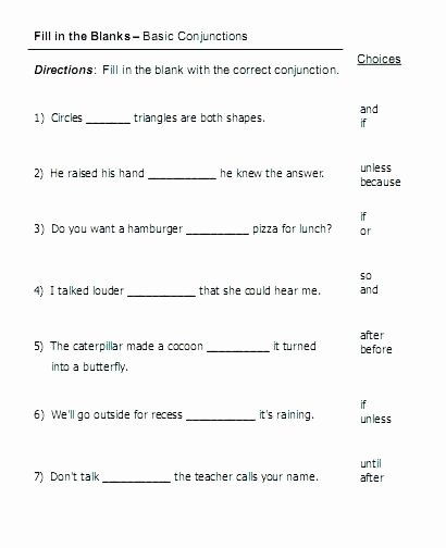 Correlative Conjunctions Worksheets with Answers Conjunctions Free Language Stuff Fanboys Pound Sentences