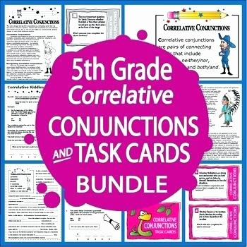 Correlative Conjunctions Worksheets with Answers Correlative Conjunction Activities Lesson Conjunctions