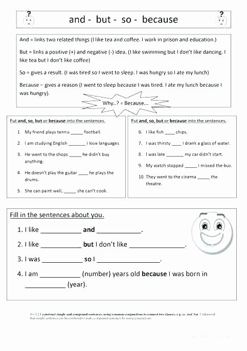 Correlative Conjunctions Worksheets with Answers Correlative Conjunction Worksheets Conjunctions Exercises