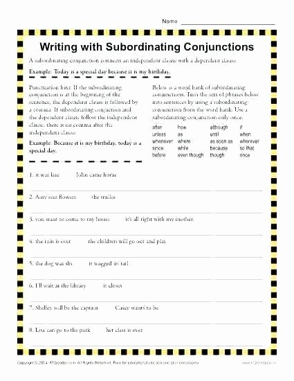 Correlative Conjunctions Worksheets with Answers Grade 3 Grammar topic Conjunctions Worksheets Lets S