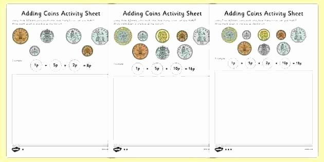 Counting Bills and Coins Worksheets Counting Change Worksheets