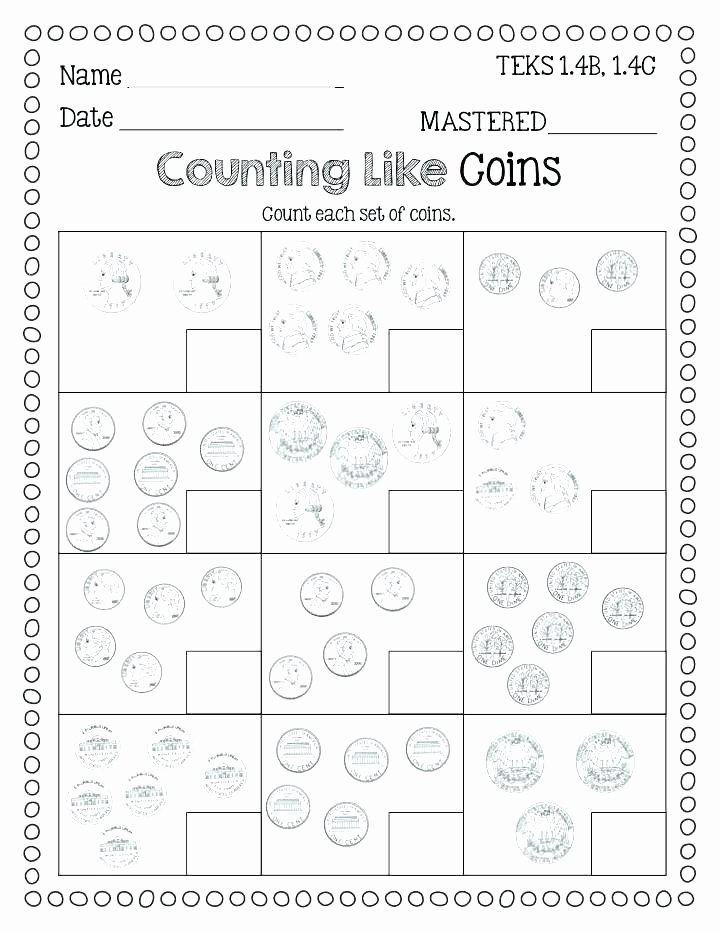 Counting Change Back Worksheets Counting Money Worksheets 3rd Grade