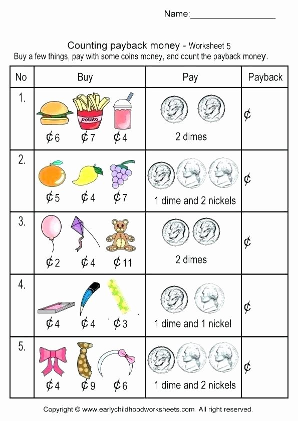 Counting Coins Worksheets 2nd Grade Free Money Math Games for 2nd Grade – Kcctalmavale