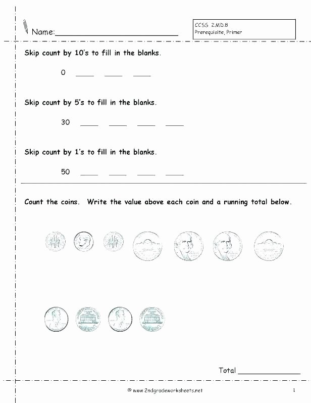 Counting Coins Worksheets First Grade Money Math Worksheets 3rd Grade – Petpage