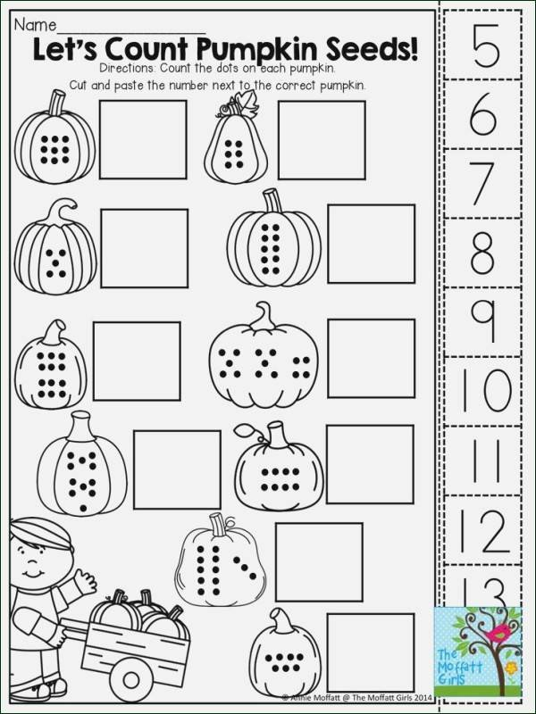 Counting Cut and Paste Worksheets Cut and Paste Worksheets