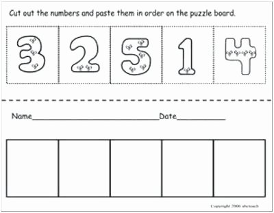 Counting Cut and Paste Worksheets Free Printable Cut and Paste Worksheets – Kenkowomanfo