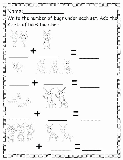 Counting Cut and Paste Worksheets Preschool Cut and Paste Worksheets