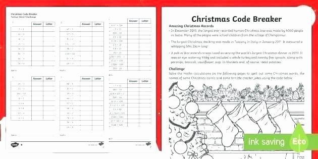 Crack the Code Worksheets Printable Unique Code Breaking Worksheets