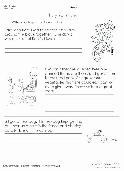 Creative Writing Worksheets for Adults English Writing Worksheets for Grade 2