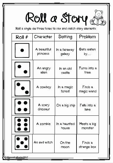 Creative Writing Worksheets Pdf 2nd Grade Writing Prompts Worksheets