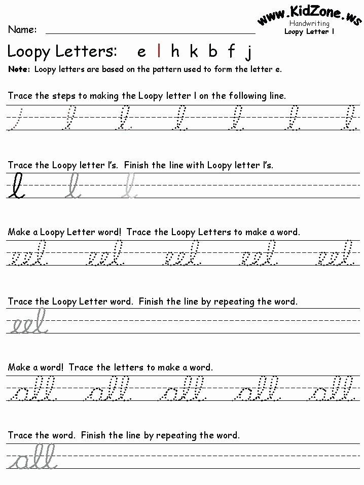 Cursive Alphabet Worksheets Pdf Beautiful Cursive Handwriting Practice Cursive Handwriting