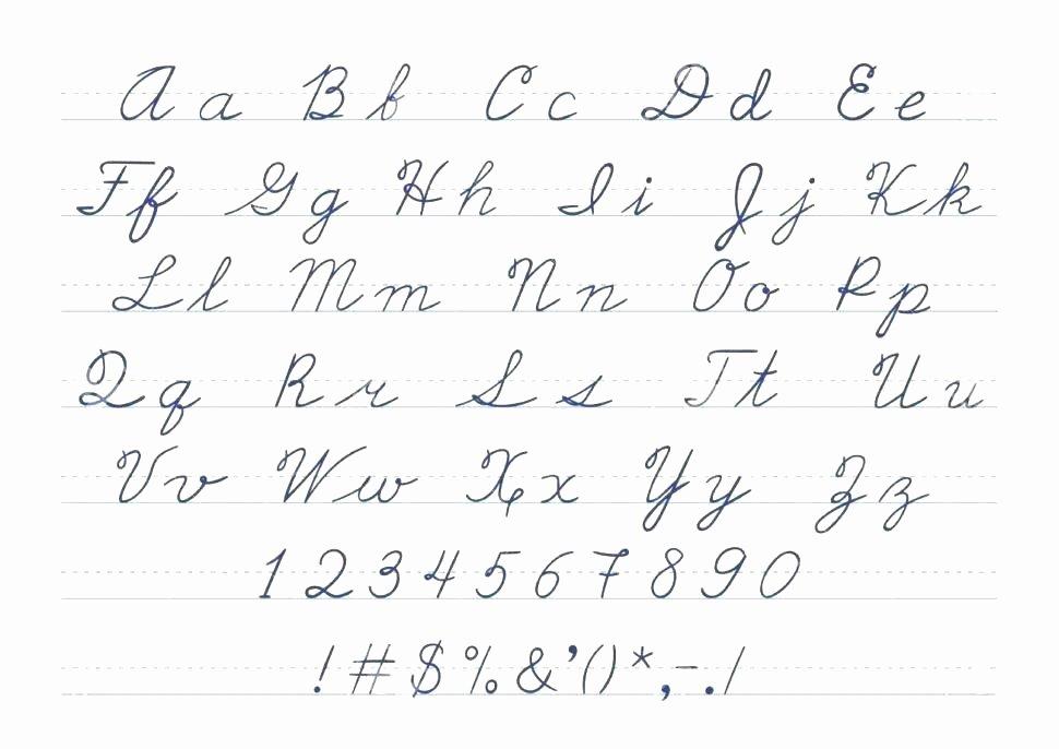 Cursive Alphabet Worksheets Pdf Cursive Letters Tracing Page Printable Worksheets Writing