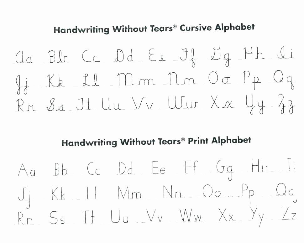 Cursive Alphabet Worksheets Pdf Letter Practice Worksheets