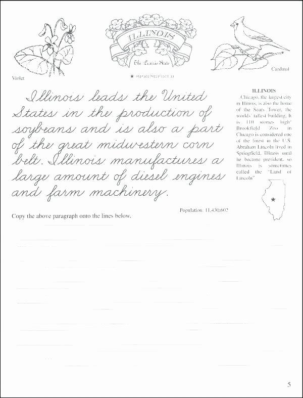 Cursive Paragraph Worksheets Print Handwriting Worksheets