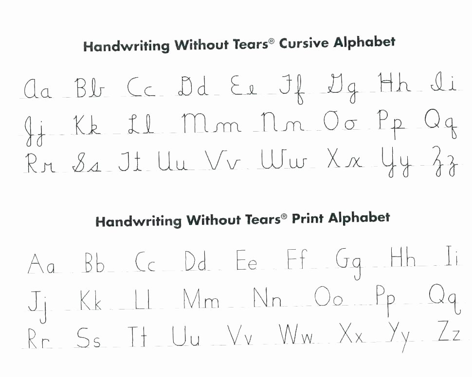 Cursive Paragraphs Worksheets Alphabet Handwriting Worksheets
