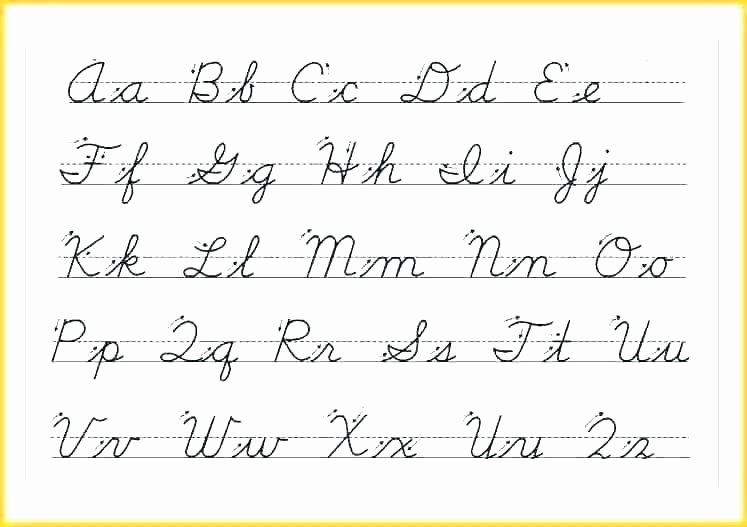 Cursive Paragraphs Worksheets Pictures Of Cursive – Itswow