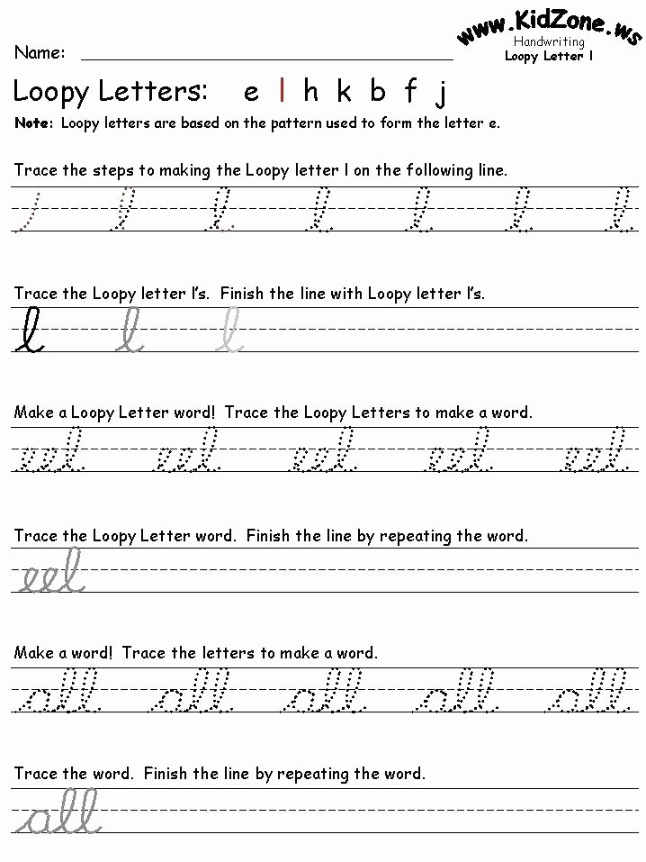 Cursive Practice Sheets Pdf Beautiful Cursive Handwriting Practice Cursive Handwriting