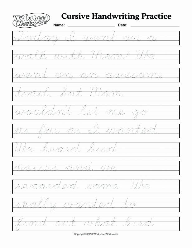Cursive Practice Sheets Pdf Handwriting Practice Paper Handwriting Practice Sheets