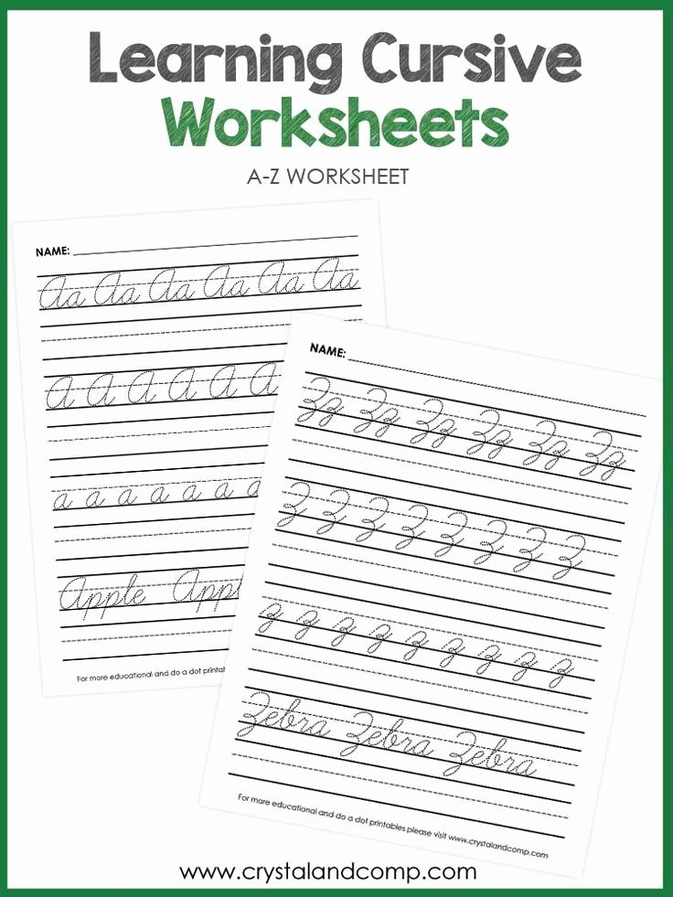 Cursive Sentence Worksheets Handwriting Cursive Tracing Sheets