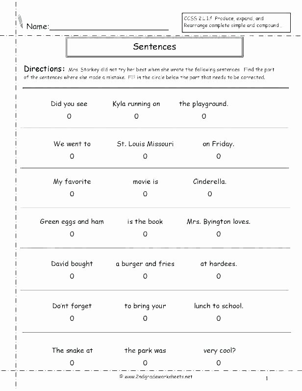 Cursive Sentence Worksheets Printable Cursive Worksheets