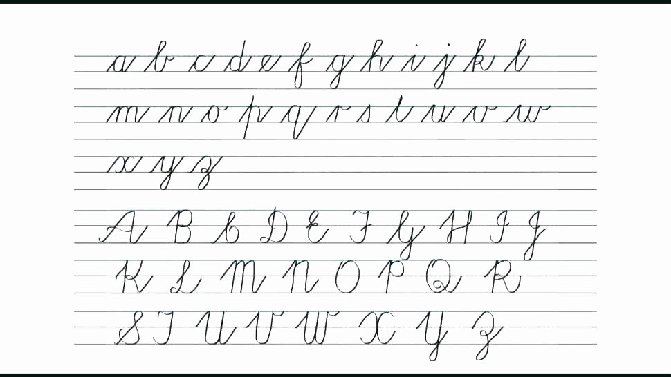 Cursive Writing Sheets Pdf Cursive Writing Worksheets for Beginners