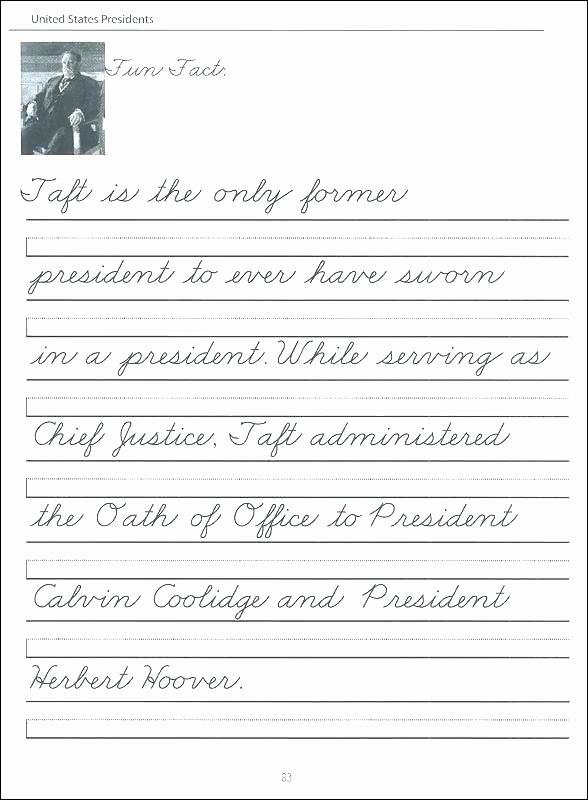 Cursive Writing Worksheets Sentences Awesome Cursive Writing Worksheets Premium for Grade 1