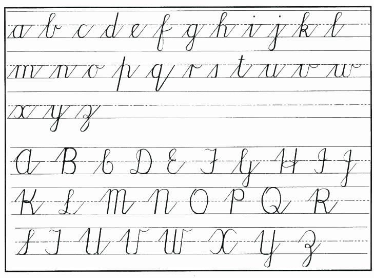 Cursive Writing Worksheets Sentences Free Cursive Writing Worksheets for Adults
