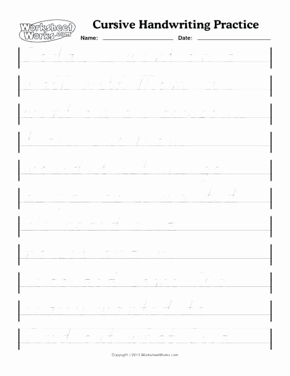 Cursive Writing Worksheets Sentences Ph Writing Worksheet Worksheets Library Teaching Phs Free