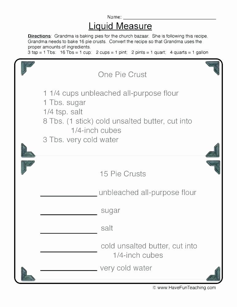 Customary Capacity Worksheets Uses Water Worksheets for Kindergarten Kindergarten