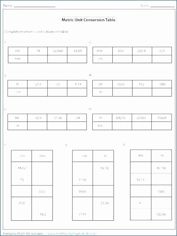 Customary Units Of Capacity Worksheet Customary Units Length Worksheets Converting Small Size