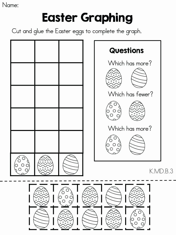 Cut and Paste Math Worksheets Maths Worksheets for Kindergarten – butterbeebetty