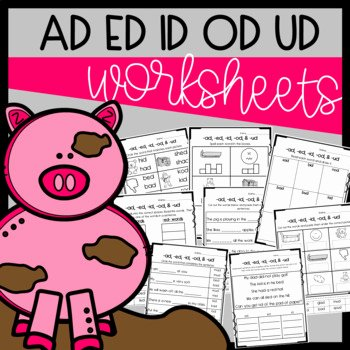 Cut and Paste Sequencing Worksheets Ad Ed Id Od & Ud Worksheets Cut and Paste sorts Cloze Read & Draw Etc