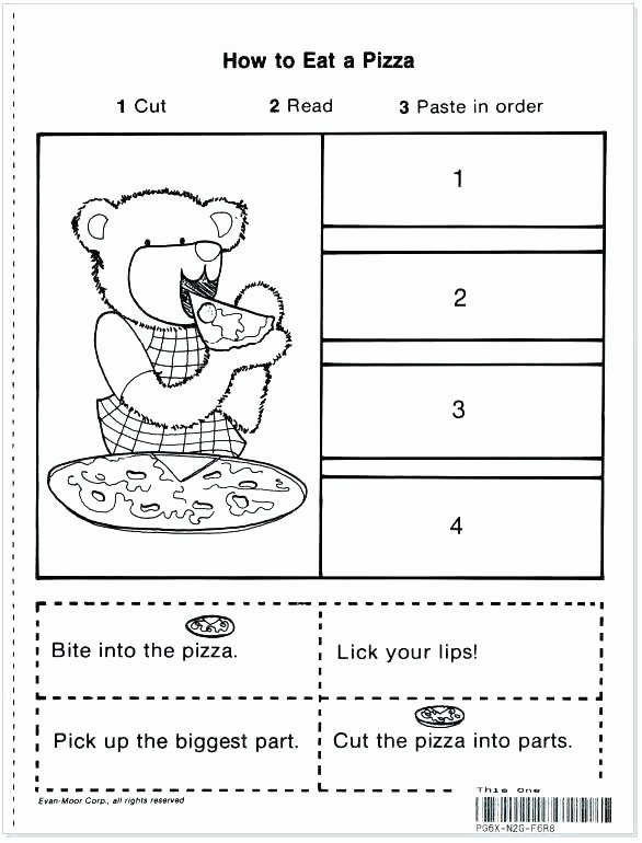 Cut and Paste Sequencing Worksheets Story Sequencing Worksheets Free 2nd Grade