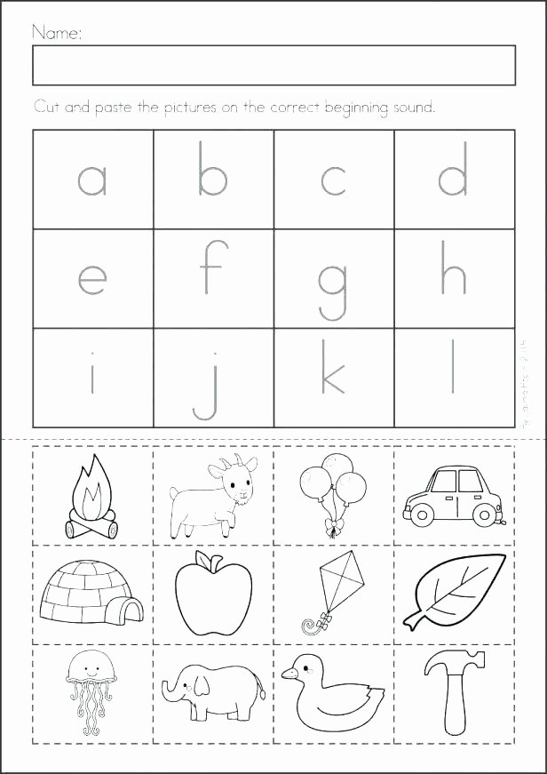 Cut and Paste Worksheet Rhyming Worksheets Free Printable Grade Cards 3rd Math Flash