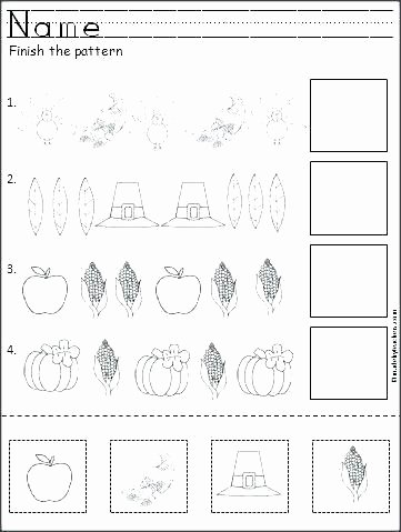 Cut and Paste Worksheets Kindergarten Color Cut and Glue Worksheets Kindergarten Fall Paste Letter