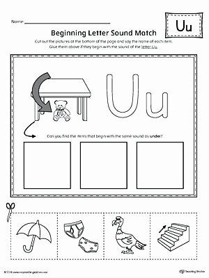 Cut and Paste Worksheets Lovely Letter U Worksheets Finding and Connecting Letters Worksheet