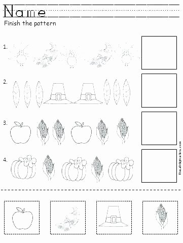Cut and Paste Worksheets New Free Printable Pattern Worksheets