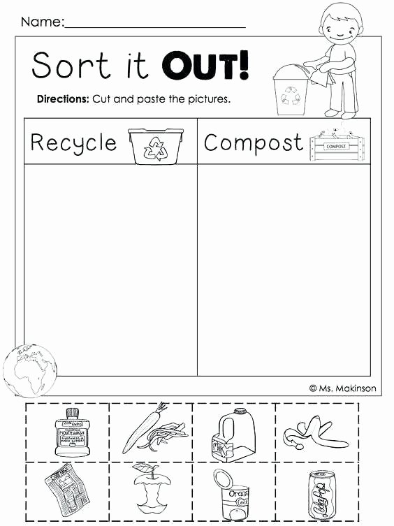 Cvc Cut and Paste Worksheets Cvc Worksheets for Kindergarten Awesome Rectangle Preschool