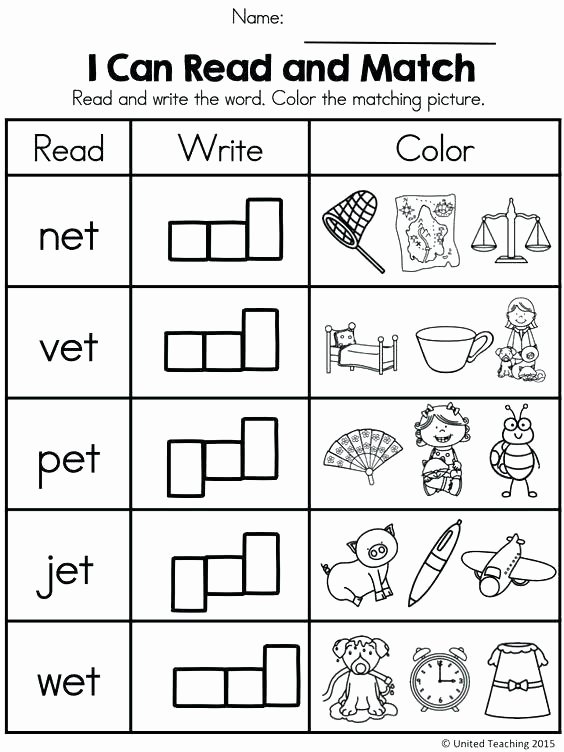 Cvc Cut and Paste Worksheets Reading Prehension Passages Activities for Worksheets