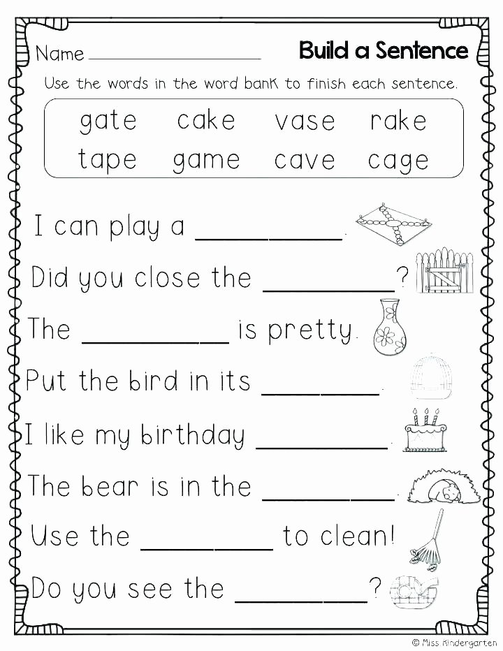 Cvc Cut and Paste Worksheets Words Worksheets Free Cvc Uk Cut and Paste