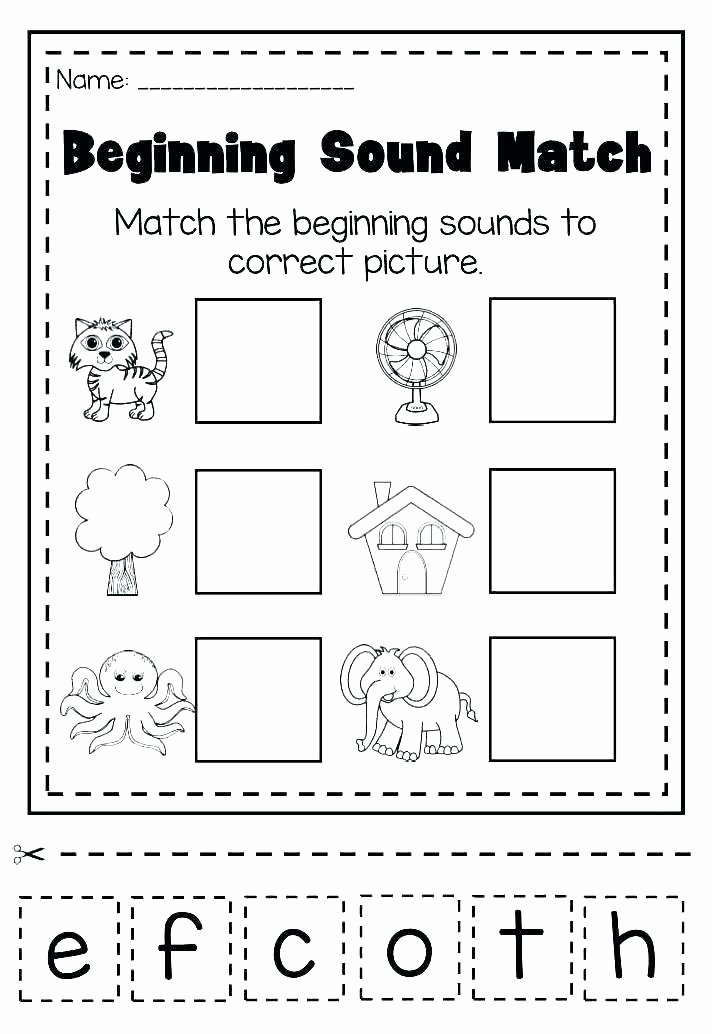 Cvc Worksheet Kindergarten Cvc Worksheets for Preschool