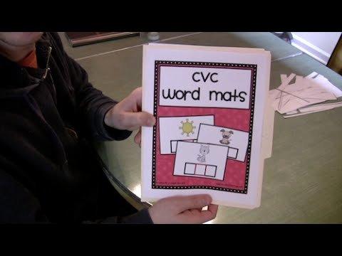 Cvc Worksheets for Kinder Cvc Words Activity Preschool & Kindergarten Phonics Lesson