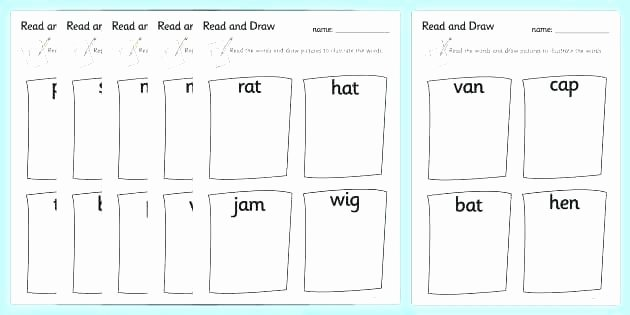 Cvc Worksheets for Kinder Free Worksheets Kindergarten Test for Printable Free