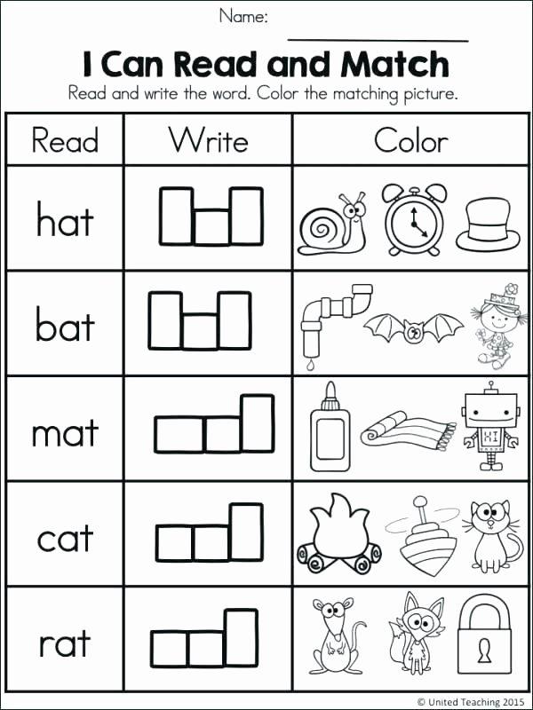 Cvc Worksheets for Kinder Worksheets Google Search Phonics for Kindergarten S Cvc Pdf