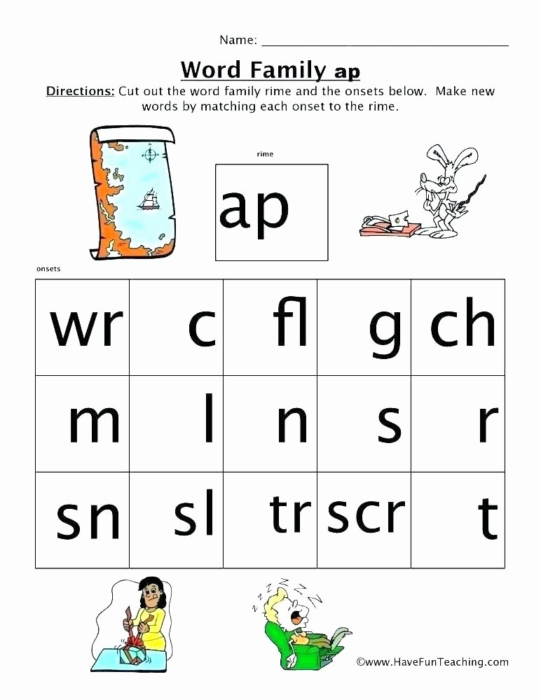Cvc Worksheets Pdf Am Family Worksheets
