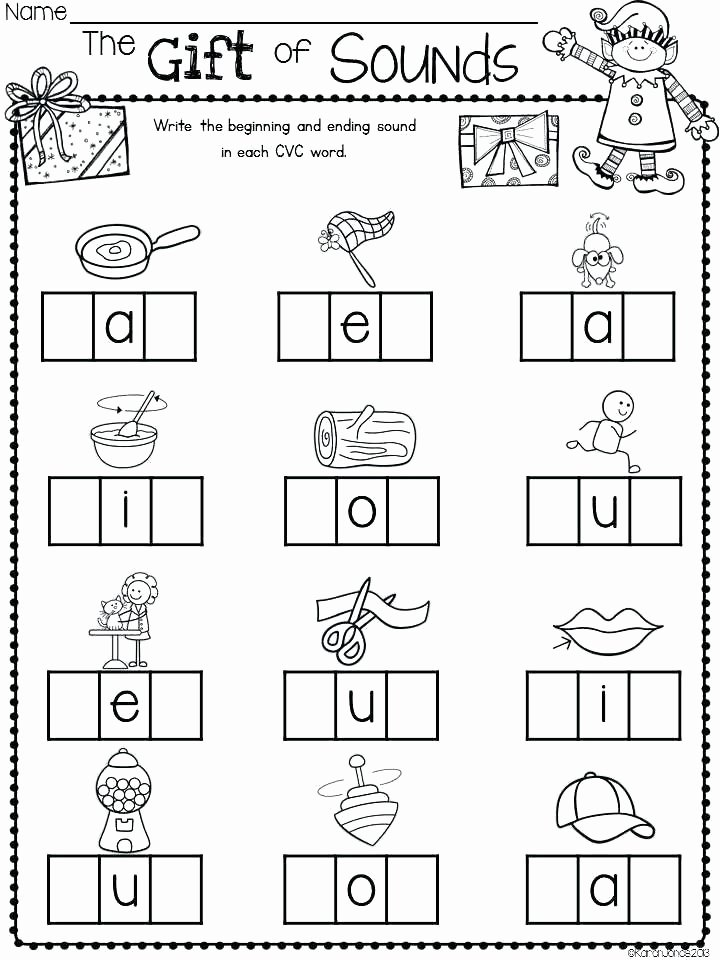 Cvc Worksheets Pdf Kindergarten Worksheet Pdf – Ozerasansor