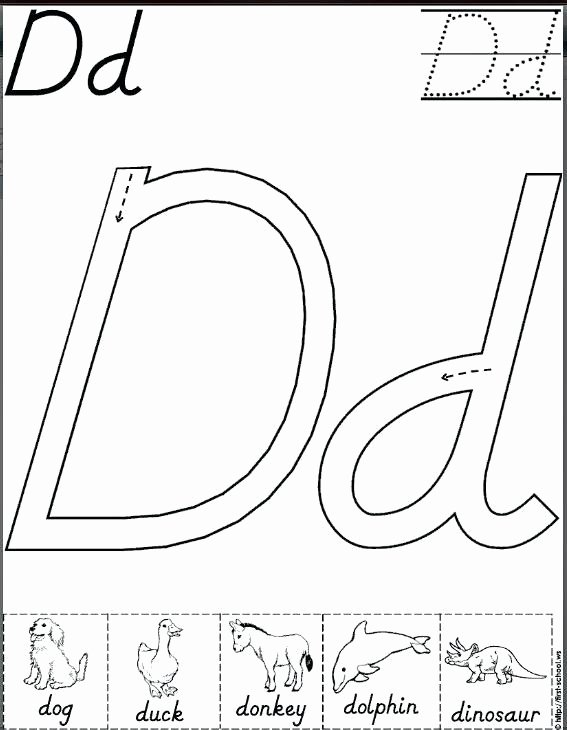 D Nealian Alphabet Worksheets D Nealian Alphabet Worksheets D Handwriting Sheets Worksheet