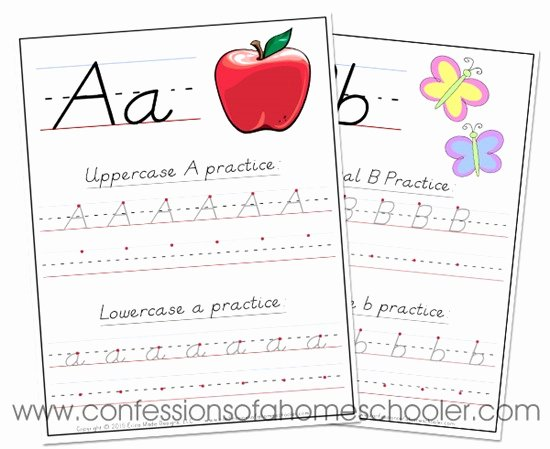 D Nealian Alphabet Worksheets D Nealian Handwriting Alphabet Worksheet