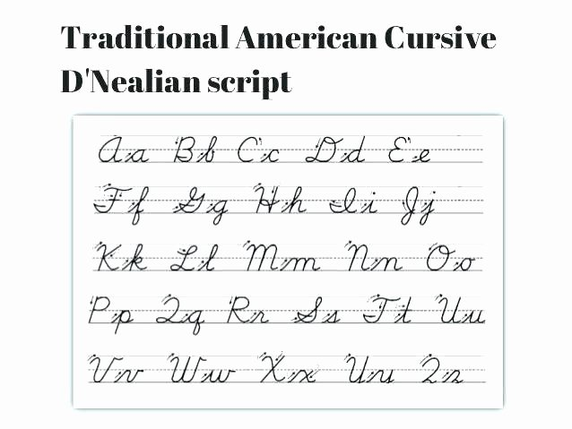 D Nealian Alphabet Worksheets D Nealian Handwriting Worksheets Free Beginning